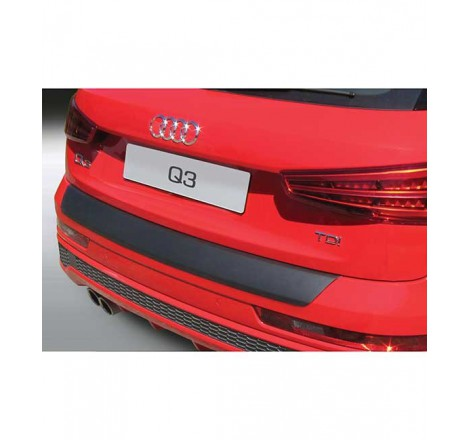 Galinio bamperio apsauga RGM Audi Q3  2011 -
