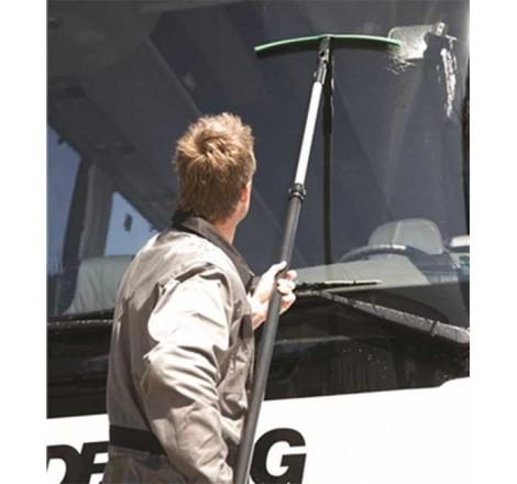 Rankinis vandens nubrauktuvas stiklui ir kėbului 45 cm