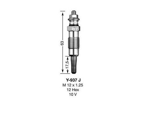 Kaitinimo žvakė NGK DP5 (7503)