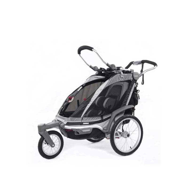 Vežimėlis Chariot Chinook + Stroll/Jog  juodas
