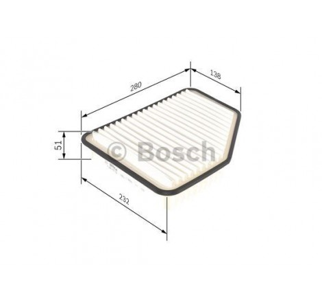 Bosch F-026-400-162 oro filtras