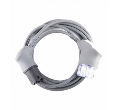 Elektromobilio įkrovimo kabelis Charge Amps BEAM Type 2 5m.