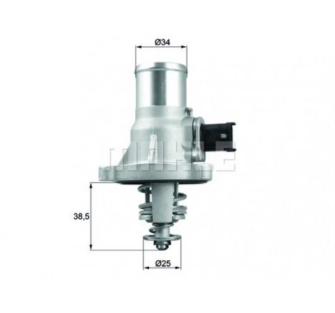 Aušinimo sistemos termostatas TM 41 105