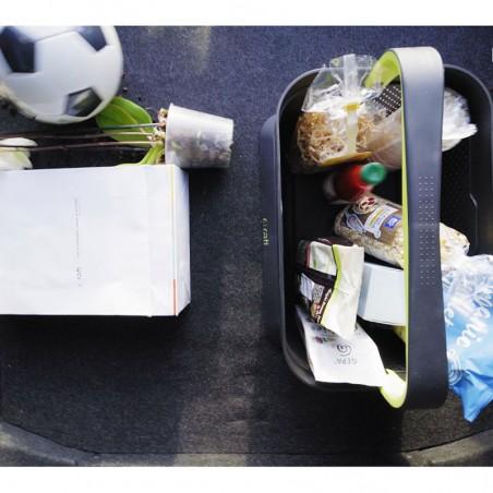 Bagažinė išlieka tvarkinga, o daiktai savo vietoje.