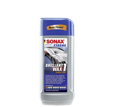 Sonax automobilio vaškas Xtreme Brilliant Wax 1 Hybrid NPT 250ml