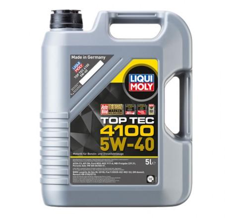 Variklio alyva Liqui Moly TOP TEC 4100 5W-40 5L