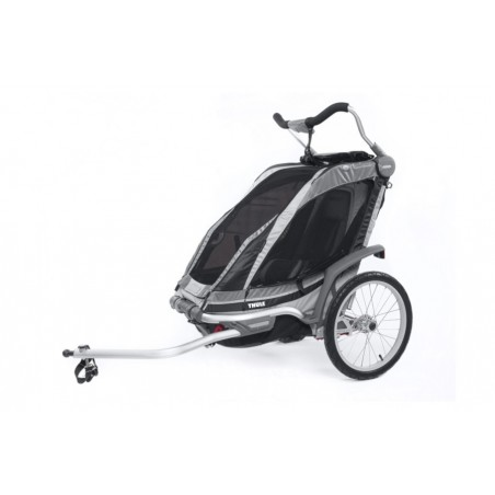 Vežimėli0 Chariot Chinook dviračio priekabos tvirtinimas