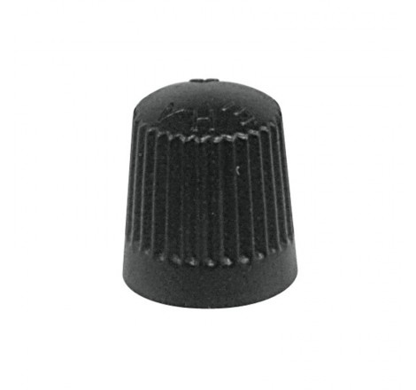 Padangos ventilio dangtelis juodas 100 vnt.