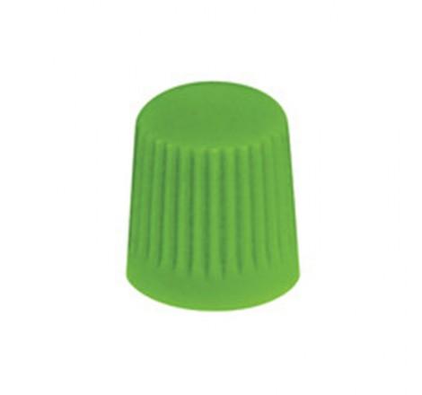Padangos ventilio dangtelis žalias 100 vnt.