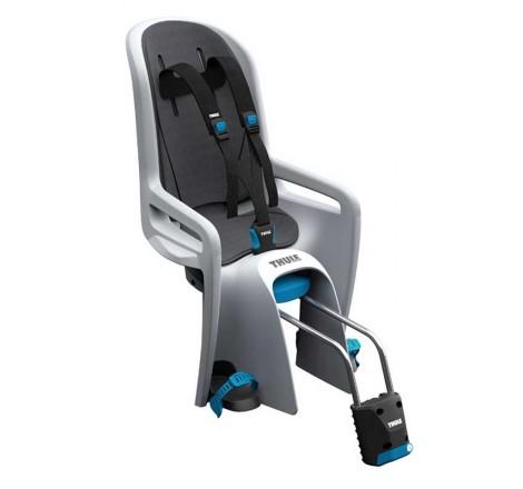 Dviračio kėdutė RideAlong šviesiai pilka