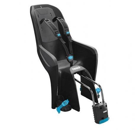 Dviračio kėdutė RideAlong Lite tamsiai pilka tvirtinama prie rėmo