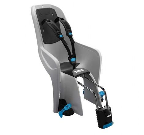 Dviračio kėdutė RideAlong Lite šviesiai pilka tvirtinama prie rėmo