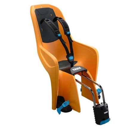 Dviračio kėdutė RideAlong Lite oranžinė tvirtinama prie rėmo