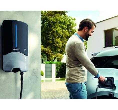 Elektromobilio įkrovimo stotelė Webasto Pure II 11 kW