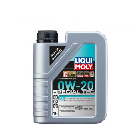 Variklio alyva Liqui Moly Special Tec V 0W-20 (Volvo) 1L