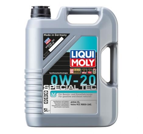Variklio alyva Liqui Moly Special Tec V 0W-20 (Volvo) 5L