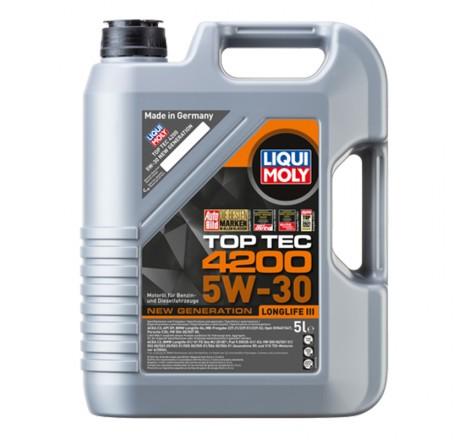 Variklio alyva Liqui Moly TOP TEC 4200 5W-30 5L