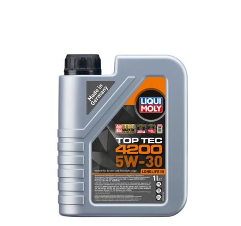 Variklio alyva Liqui Moly TOP TEC 4200 5W-30 1L