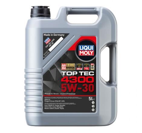 Variklio alyva Liqui Moly TOP TEC 4300 5W-30 5L