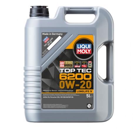 Liqui Moly TOP TEC 6200 0W-20