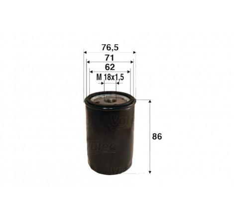 Valeo 586010 alyvos filtras
