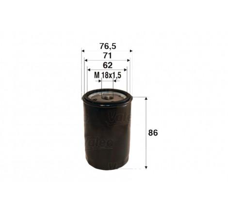 Valeo 586058 alyvos filtras