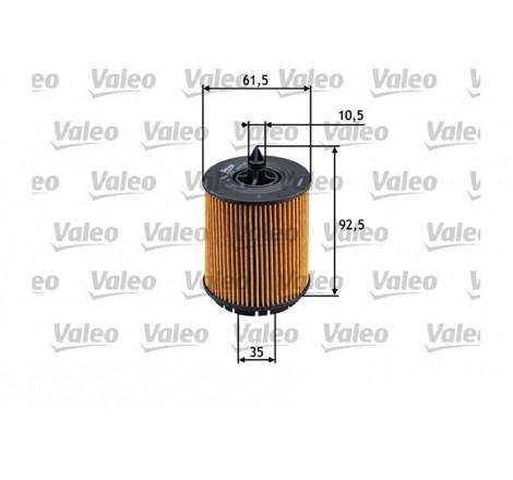 Valeo 586563 alyvos filtras