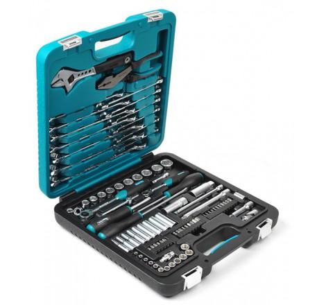 Mechaniko įrankių rinkinys 89 įrankiai K25014