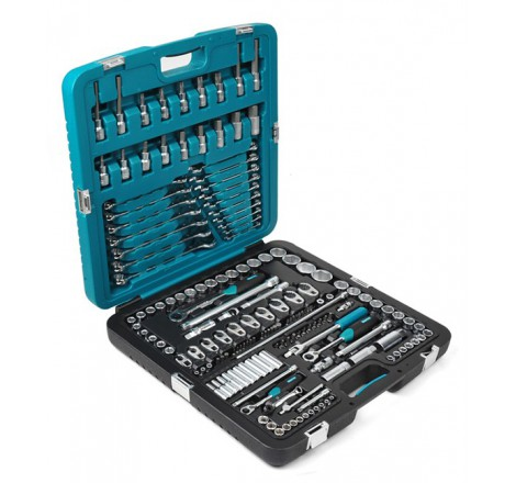 Mechaniko įrankių rinkinys 166 įrankiai K25018