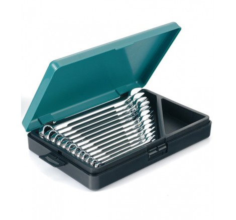 Kombinuotų veržliarakčių rinkinys 8-19mm dėžutėje