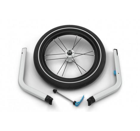 Priekinis bėgimo ratas Thule Chariot 2 vežimėliui