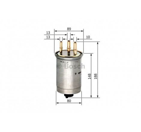 Bosch 0-986-450-509 degalų...