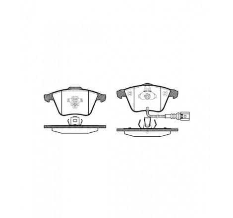 Diskinių stabdžių trinkelės priekinės Audi A3 03-