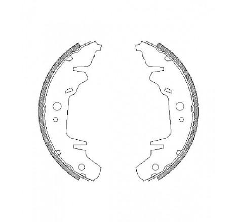 Būgninių stabdžių trinkelės galinės Chrysler T&C 96-