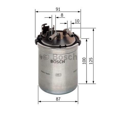 Bosch 0-450-906-426 degalų filtras