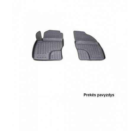 Guminiai salono kilimėliai 2vnt Peugeot Tepee 08-