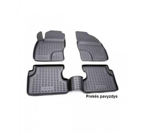 Guminiai salono kilimėliai 4 vnt Land Rover Discovery 4 10-