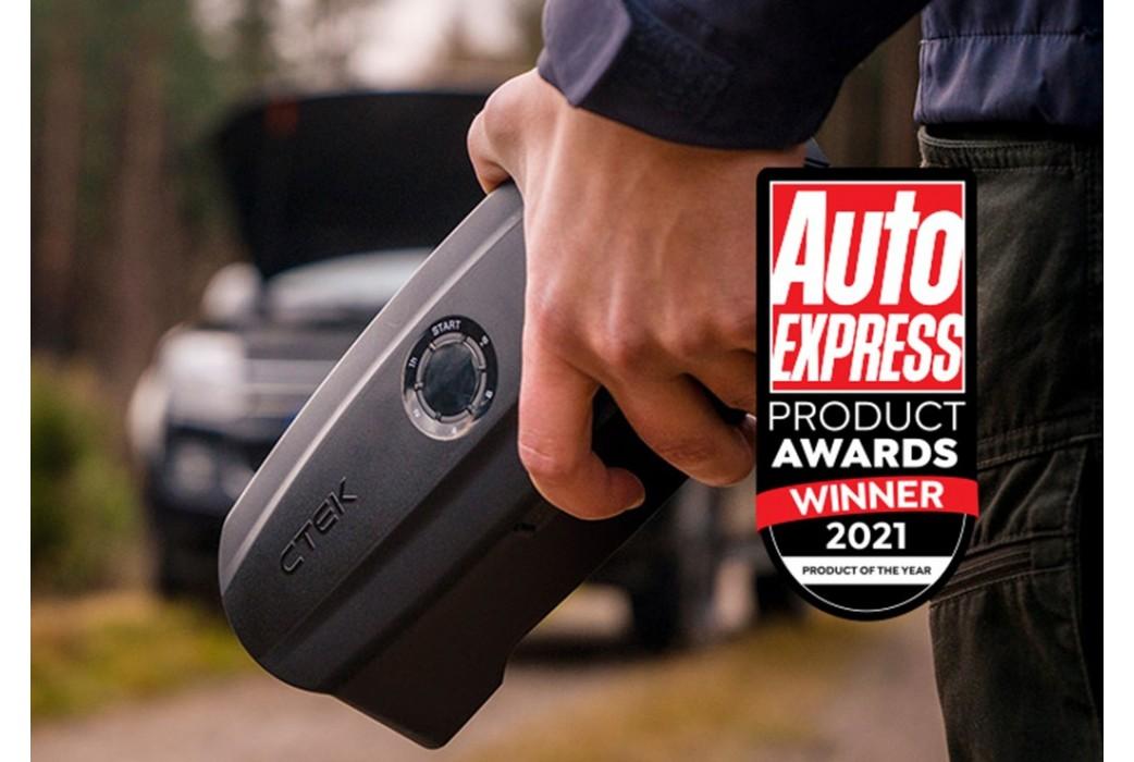 Auto Express apdovanojo CTEK CS FREE metų gaminio titulu