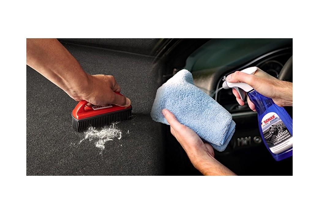 Mėgstamiausias automobilio priežiūros įrankis tarp gyvūnų šeimininkų - SONAX plaukų šalinimo šepetėlis.